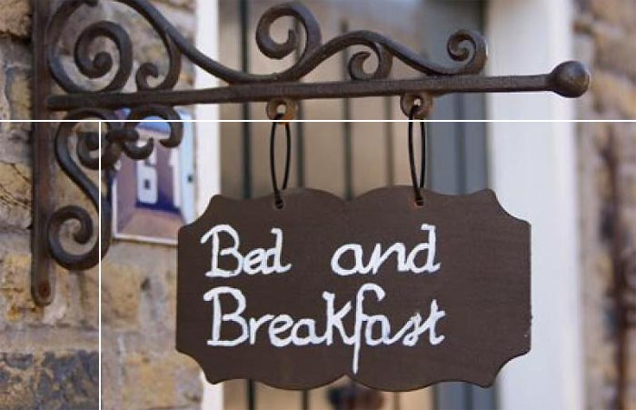 Beste Bed and Breakfast - Uithangbord