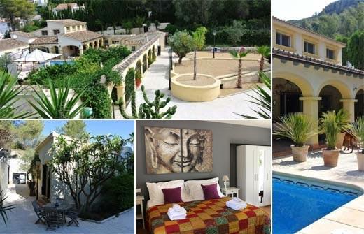 Beste Bed and Breakfast - B&B Casa Orbeta - Valencia - Alicante - Costa Blanca - Orba - compositie2
