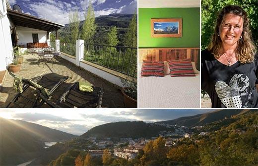 Beste Bed and Breakfast - B&B Arroyo de la Greda - Andalusië - Guejar Sierra - compositie