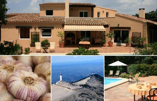Beste Bed and Breakfast - Frankrijk - Provence-Alpes-Côte d'Azur - Vaucluse - Piolenc - Les Hauts de Piolenc - compositie