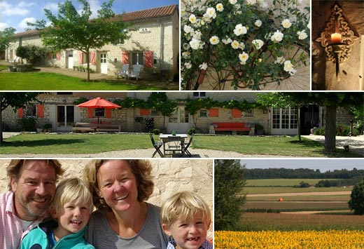 Beste Bed and Breakfast - B&B Domaine Les Fontaines - Nueil Sous Faye - compositie