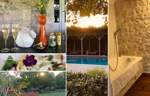 Beste Bed and Breakfast - B&B Le Guinot - Saint Martin de Gurson - compositie